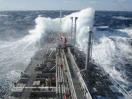 Atlantic Monster Storms Is Attempted To Be Dodged By Fuel Tankers
