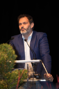 Fabrice Lépine, graduation ceremony 2017, Ecoles Nationale Les Mines, Nantes