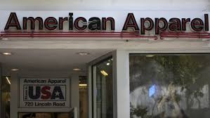Twice in just over a year, American Apparel files for second bankruptcy