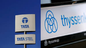 Largest EU Steel Joint Venture In A Decade Signed Between Thyssenkrupp And Tata Steel