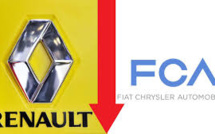 Renault Shares Drop After Withdrawal Of Merger Offer By Fiat Chrysler