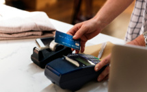 COVID19 travels well on credit card terminals, not on banknotes