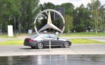 Mercedez-Benz employs humans instead of robots in its assembly line